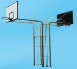 Fixed double-arm Basketball stand, 40113