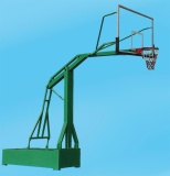 Movable Wide-arm Basketball Backstop, 40108